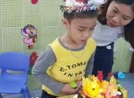 Sinh nhật cháu Quốc Trung lớp lớn 2