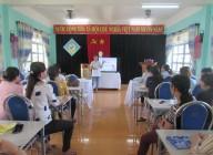 Trường Mầm non Đại Đồng tổ chức tập huấn xử lý sơ cấp cứu ban đầu