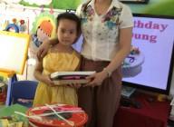 Sinh nhật bé Hoàng Dung lớp lớn 1