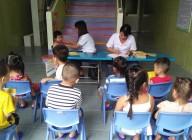 Trường Mầm non Đại Đồng tổ chức khám sức khỏe đầu vàu cho trẻ năm học 2019-2020