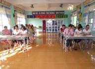 Trường MN Đại Đồng tổ chức tập huấn VSDD, VSATTP cho NVCD và 5 chủ nhóm trẻ tư thục