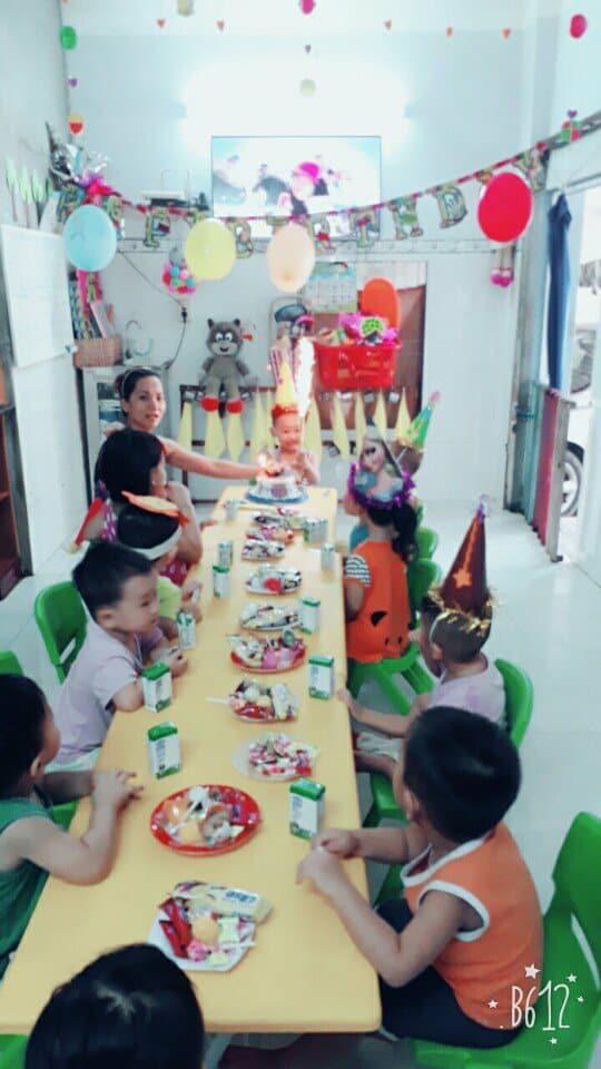 Sinh nhật bé Gia Long nhóm trẻ Tư thục Họa Mi
