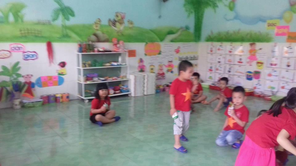 Trường MN Đại Đồng tham gia hội thi Xây dựng môi trường lấy trẻ làm trung tâm cấp huyện năm học 2017 – 2018