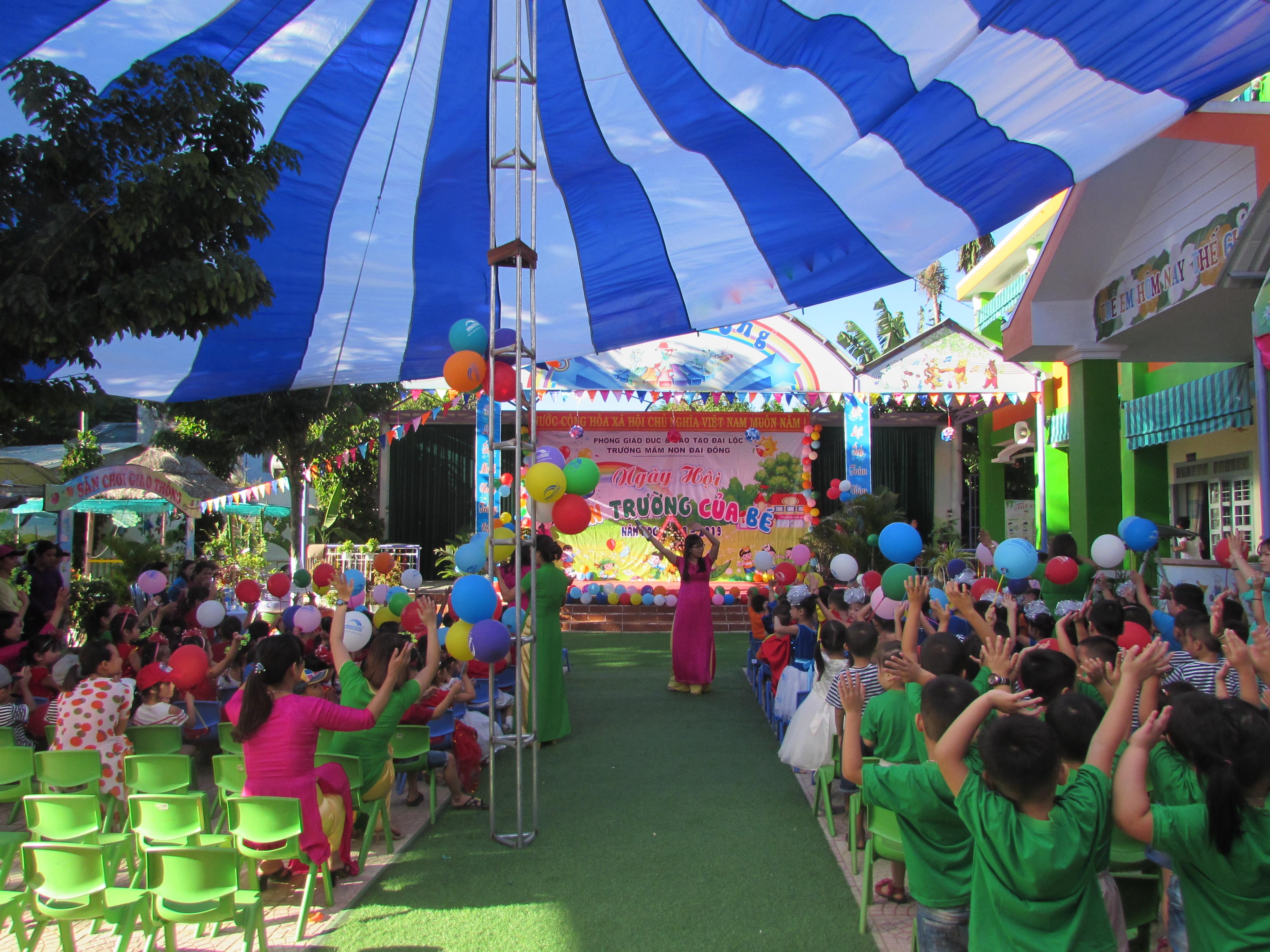 Ngày hội đến trường của bé năm học 2018 – 2019